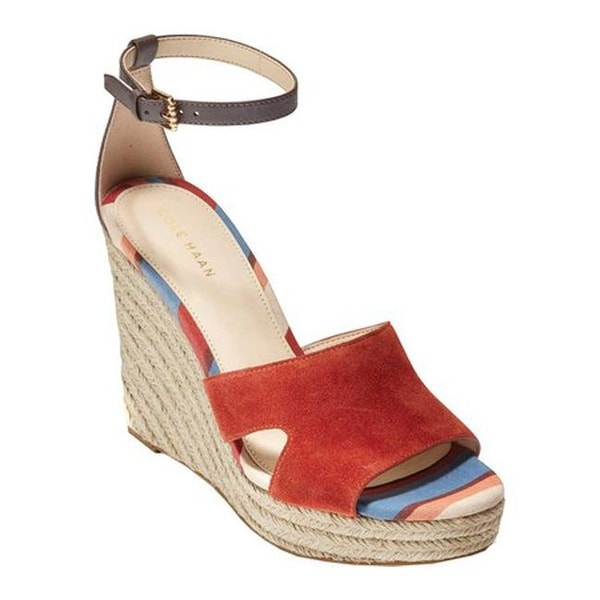 b84f963c6fc Shop Cole Haan Women's Giselle High Espadrille Wedge II Sandal ...