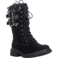 Wanted Pilsner Lace-Up Booties, Black - 5.5 us