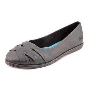 Blowfish Glo Women Round Toe Synthetic Black Flats