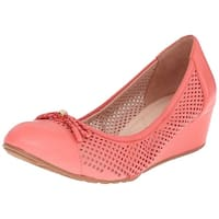 Cole Haan Womens Tali Grand Closed Toe Wedge Pumps