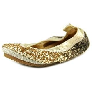 Yosi Samra Sonya Round Toe Synthetic Flats