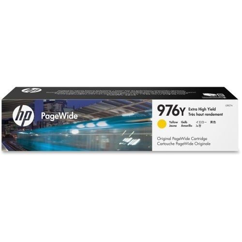HP 976Y Extra High Yield Yellow Original PageWide Cartridge (L0R07A)(Single Pack)