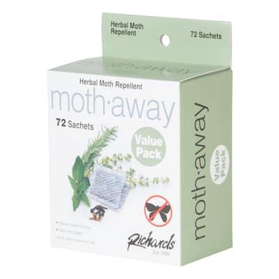 HERBAL Moth Away, Non Toxic, 72 Sachets