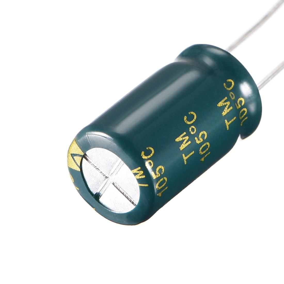 12PCS 1000uF 16V 105C Radial Electrolytic Capacitor