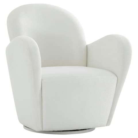Pasargad Home Noho Collection Modern Swivel Chair