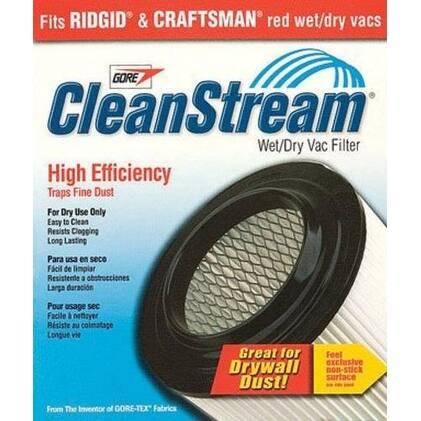 Shop-Vac 9036100 Cleanstream High Efficiency Cartridge Filter