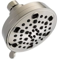 Delta 52638-15-PK 1.5 GPM Multi-Function Shower Head with H2Okinetic Technology