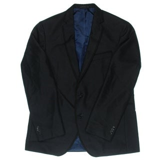 Kenneth Cole New York Mens Shimmer Classic Fit Two-Button Blazer - 44R