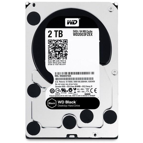 "Wd Black Wd2003fzex 3.5"" 2Tb Hard Disk Drive 7200 Rpm Sata 6Gbps 64Mb Cache"
