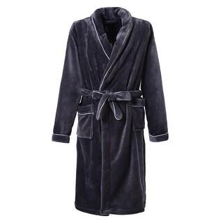 Richie House Women's Plush Soft Warm Fleece Bathrobe