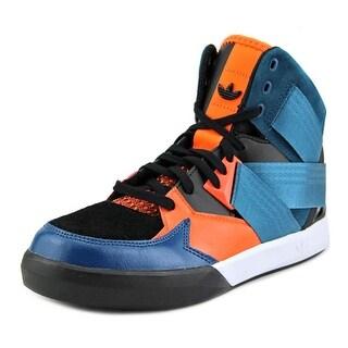 Adidas C-10 Originals Round Toe Leather Sneakers