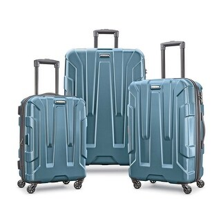 Samsonite Centric 3 Piece Expandable Hardside Spinner Luggage Set, Teal