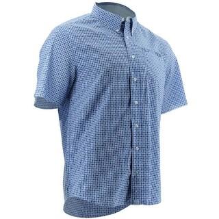 Huk Men's Santiago LaSalle Navy Small Short Sleeve Shirt