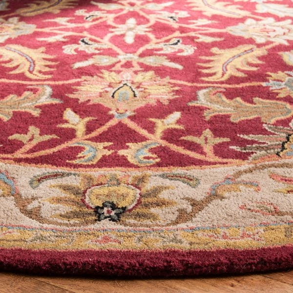Safavieh Handmade Heritage Sharee Traditional Oriental Wool Rug On Sale Overstock 2183972