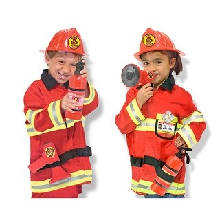 Role Play Fire Chief Costume Set