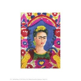 ''The Frame'' by Frida Kahlo Latino Art Print (10 x 8 in.)