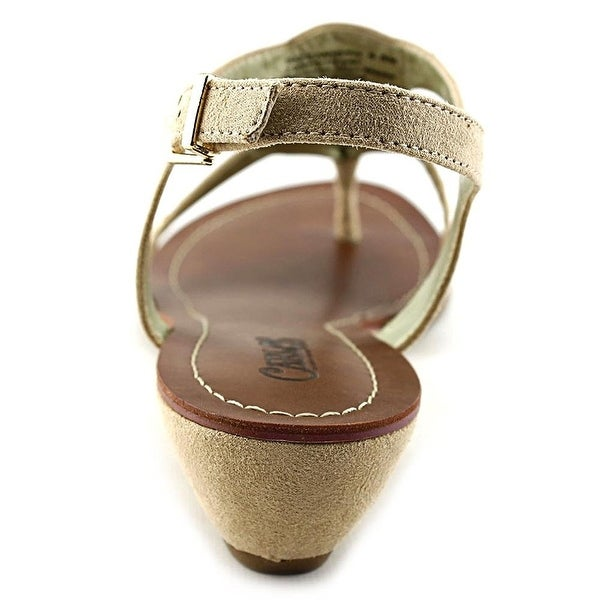 Carlos by Carlos Santana Womens MIRA Fabric Open Toe Casual Ankle Strap Sandals
