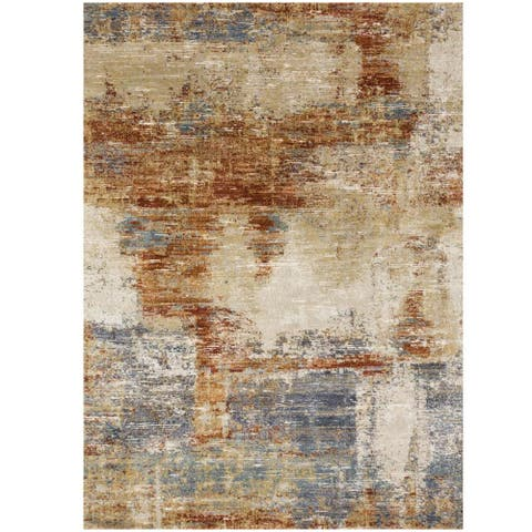 Alexander Home Zion Abstract Modern Area Rug