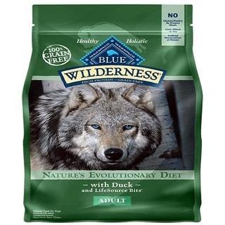 Link to Blue Buffalo Dog Wilderness  Grain-Free  Duck  11 Lbs. - 11 lbs Similar Items in Dog Food & Treats