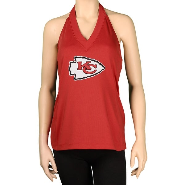 """All Sport Couture Ladies NFL """"Blown Coverage"""" Halter"""
