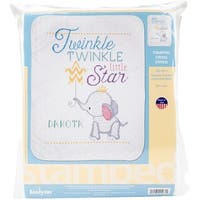 """Twinkle Twinkle Little Star Stamped Cross Stitch Kit-34""""X43"""""""