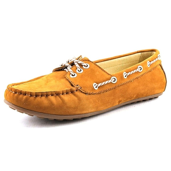 David Tate Talia Women W Moc Toe Leather Loafer