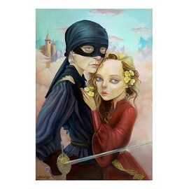 ''Princess Bride'' by Leslie Ditto Movie & TV Posters Art Print (20 x 14 in.)