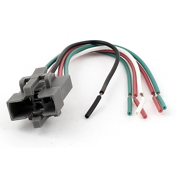 DC 12V Car Vehicle Air Conditioner 6-Wires Relay Socket Connector Dc Relay Socket Wiring on