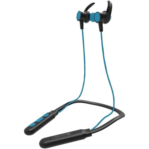 53fb3f01e7d Shop iEssentials(R) IEN-BTEFX-BL Flex Neck Band Sport Series Bluetooth(R)  Earbuds with Microphone (Blue) - Free Shipping On Orders Over $45 -  Overstock - ...