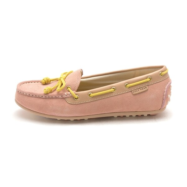 Cole Haan Womens D43381 Suede Closed Toe Boat Shoes - 6