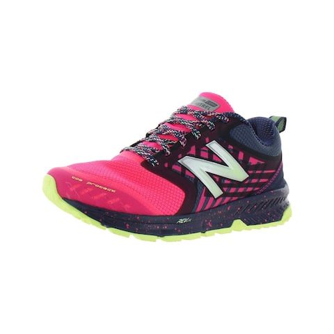 New Balance Womens Nitrel v1 Trail Running Shoes Trainers REVlite - Navy/Pink - 5 Wide (C,D,W)