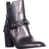 Coach Womens Moto bte Closed Toe Ankle Fashion Boots - 6