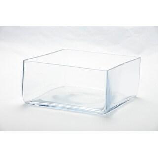 """4"""" Clear Handblown Glass Decorative Bowl - N/A"""