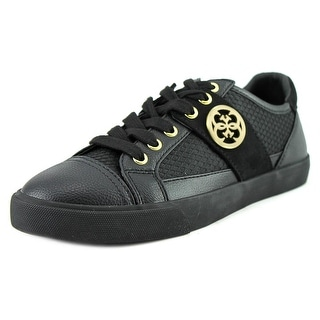 Guess Macby2 Women Canvas Black Fashion Sneakers
