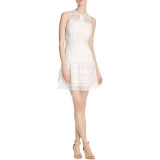 Parker Womens Casual Dress Lace A-Line - s