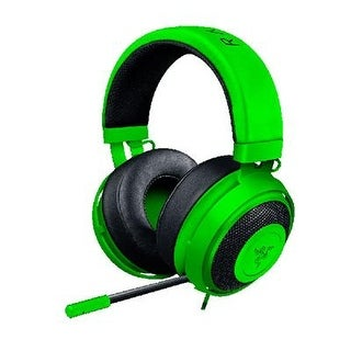 Razer Kraken Pro V2 Analog Gaming Headset With Retractable Microphone For Pc, Xbox One And Playstation 4, Green