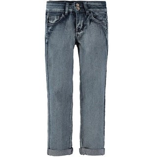 American Quality Denim Girls 7-16 Acid Denim Jean