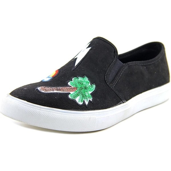 Madden Girl Comicc Women Black Sneakers Shoes