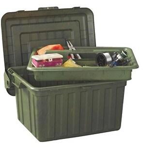 Homz Products/Storage Camo Tote Locker W/Tray 0441CMOG.02 Unit: EACH