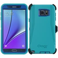 OtterBox Defender Series Case for Samsung Galaxy Note 5 and Holster Teal Blue