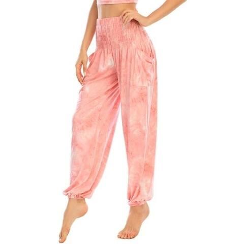 Tie-Dye Colorful Casual Yoga Pants