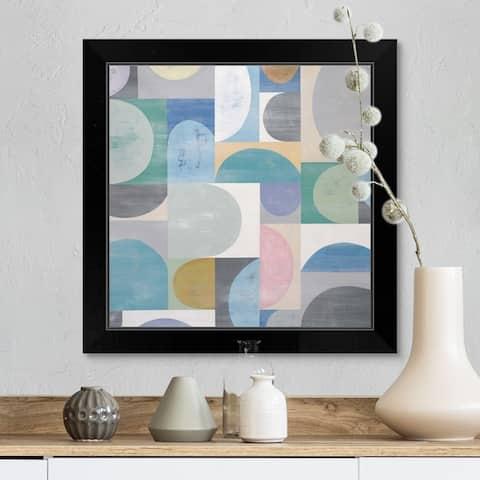 """""""Hint of Color II"""" Black Framed Print"""