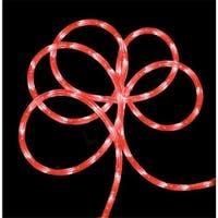 102 ft. Strawberry Pink Indoor & Outdoor Christmas Rope Lights