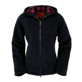 Outback Trading Sweatshirt Womens MT Rocky Hoodie Plaid Zipper 48711