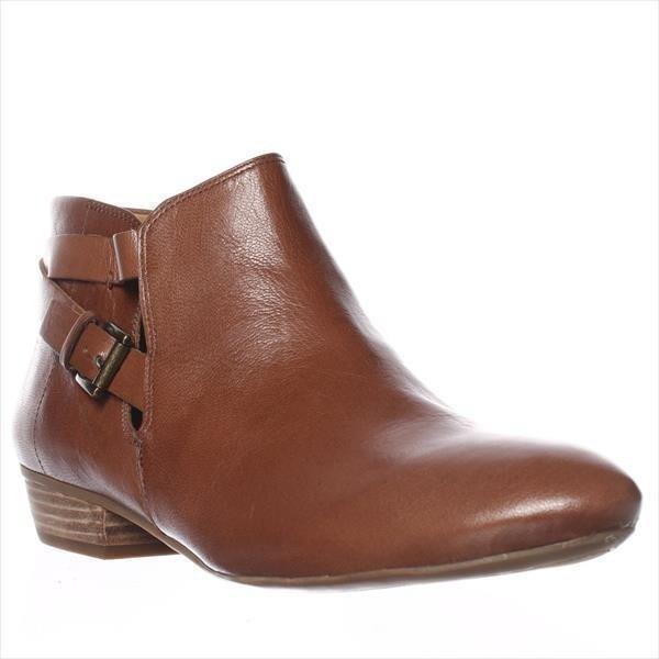 Nine West Explorer Ankle Boots, Dark Natural