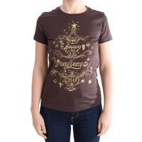 Dolce & Gabbana Brown Cotton 2017 Motive T-Shirt - it42-m