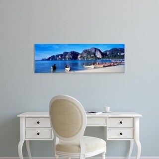 Easy Art Prints Panoramic Images's 'Phi Phi Islands Thailand' Premium Canvas Art