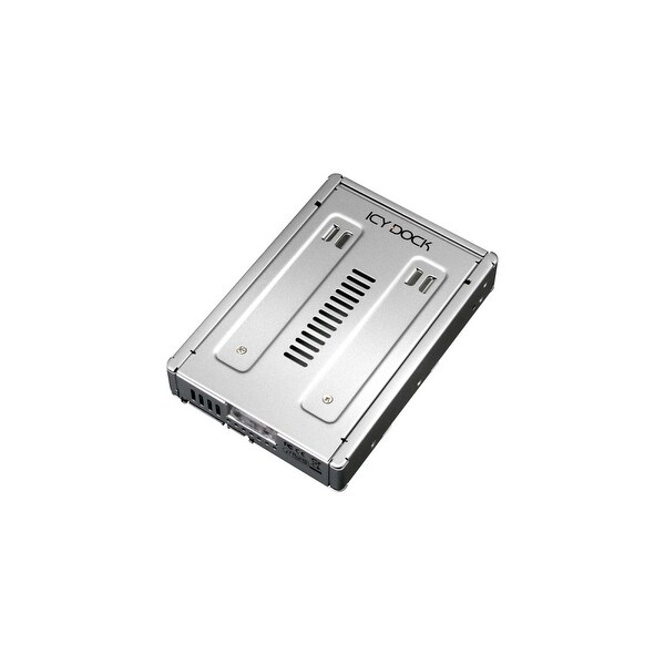 "Icy Dock MB982SP-1s Icy Dock MB982SP-1s Drive Enclosure Internal - Silver - 1 x Total Bay - 1 x 3.5"" Bay"