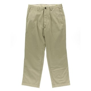 Life Khaki Mens Relaxed Fit Twill Khaki Pants - 36/29
