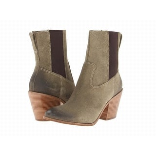Womens Boots Cole Haan Graham Short Boot Fatigue Suede